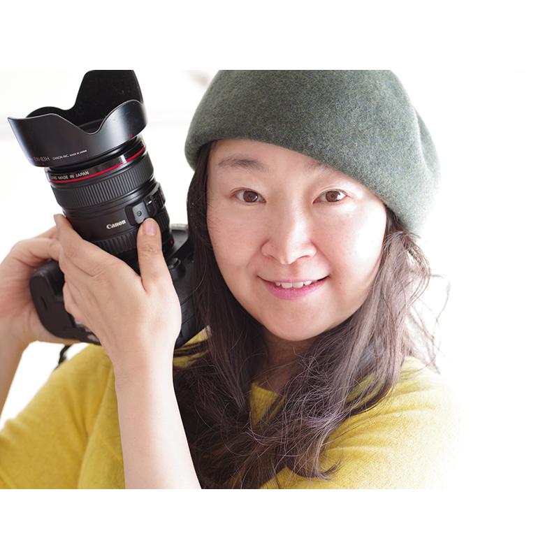 山崎エリナさん<br /> トークショー 写真