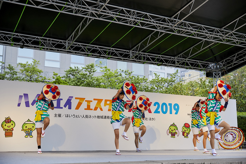山形県 花笠踊り 写真